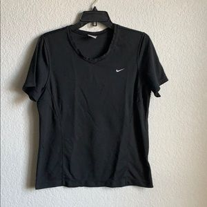 Women's size L Nike top Dri-Fit